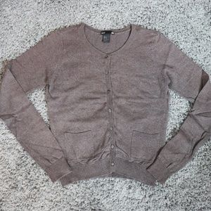 H&M Fitted Basic Cardigan